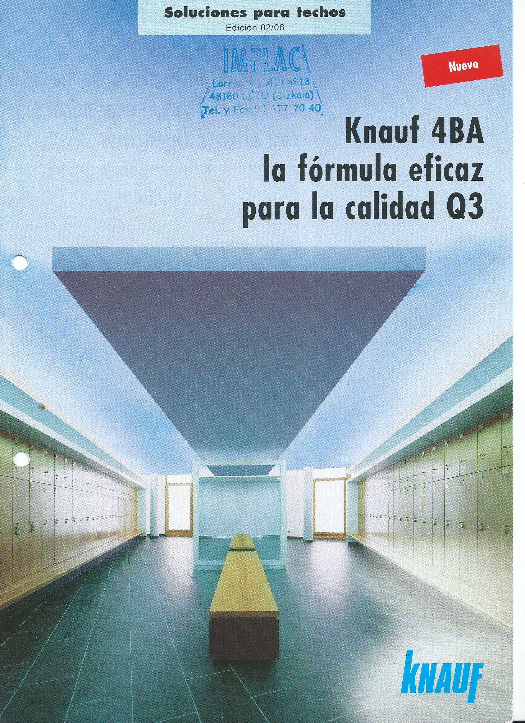Soluciones para techos Knauf