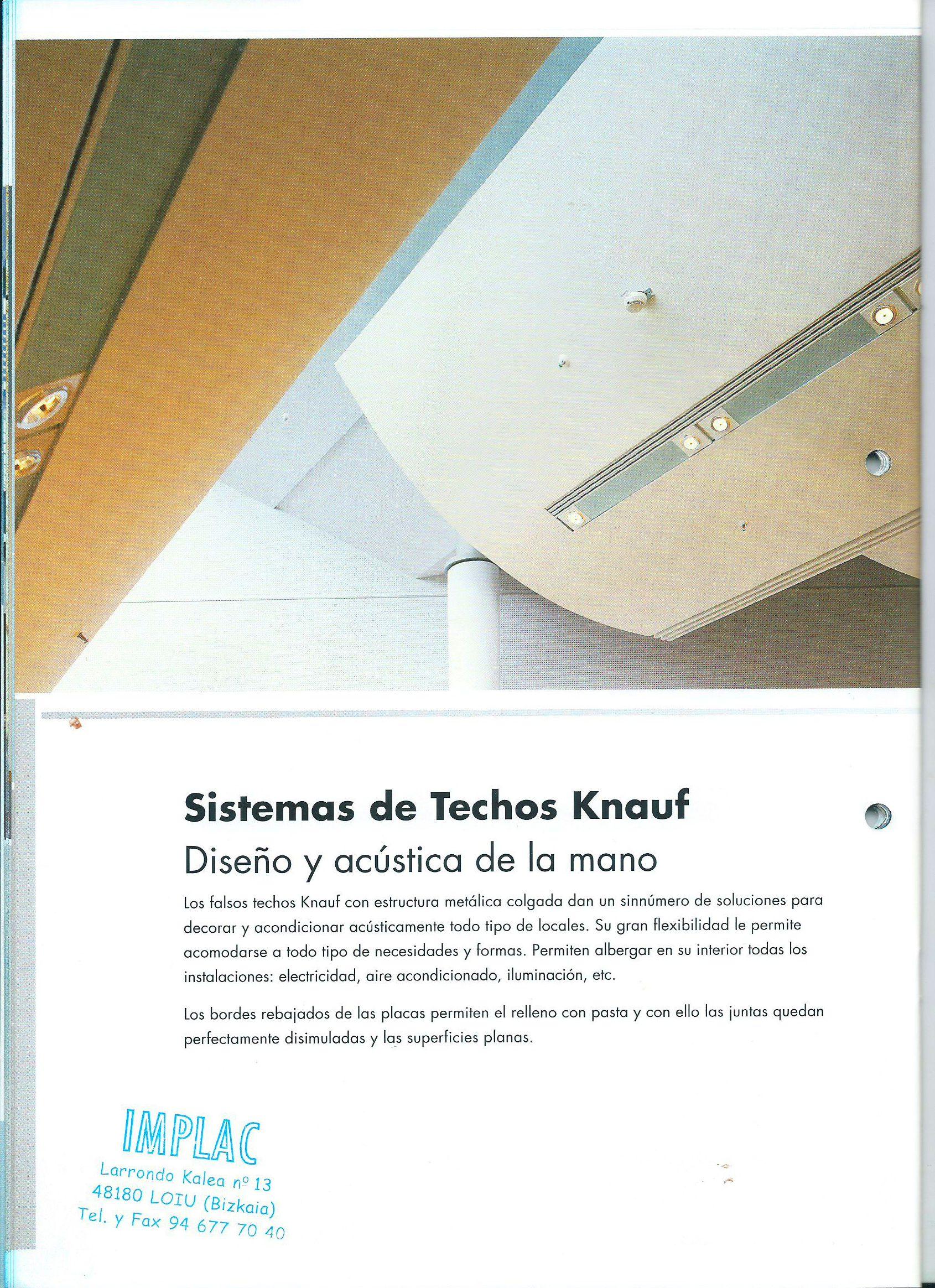 Sistemas de techos KNAUF