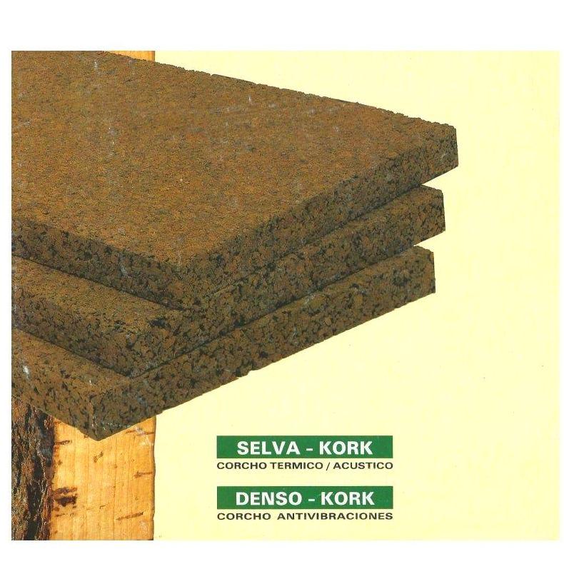 Selva-Kork y Denso-Kork, aislantes en corcho: Servicios de Implac