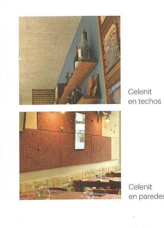 Celenit, techos y paredes