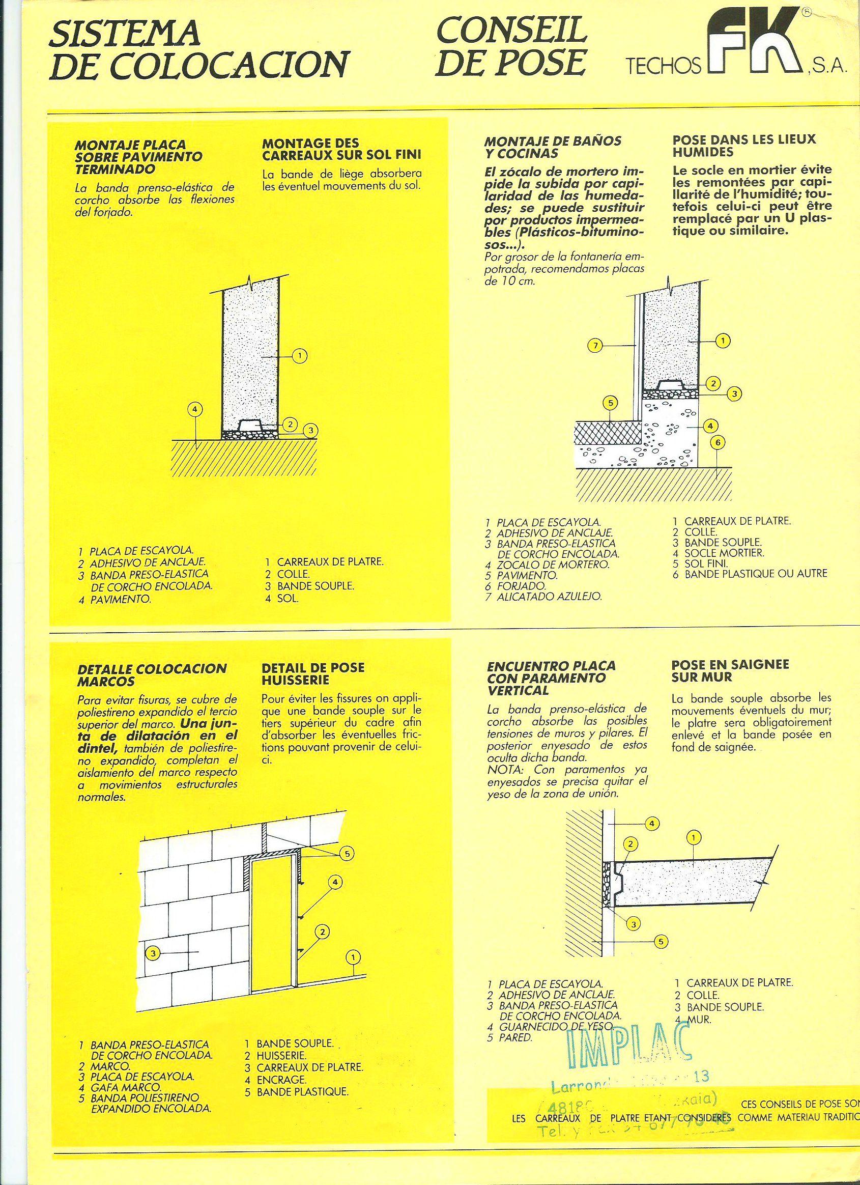 Foto 208 de Aislamientos acústicos y térmicos en  | Implac