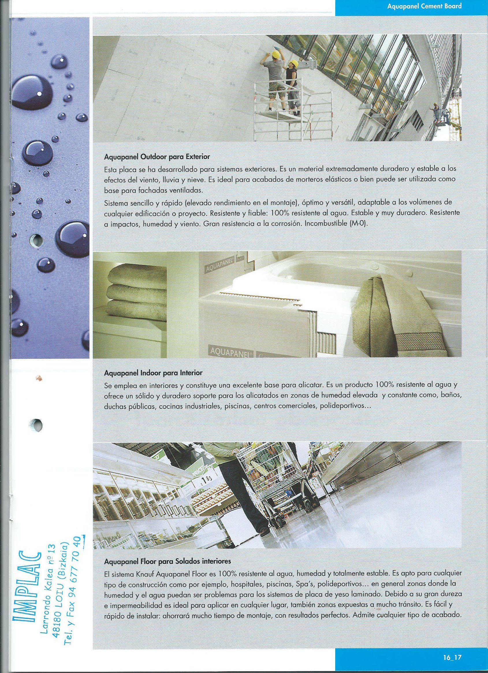 Aquapanel Cement Board