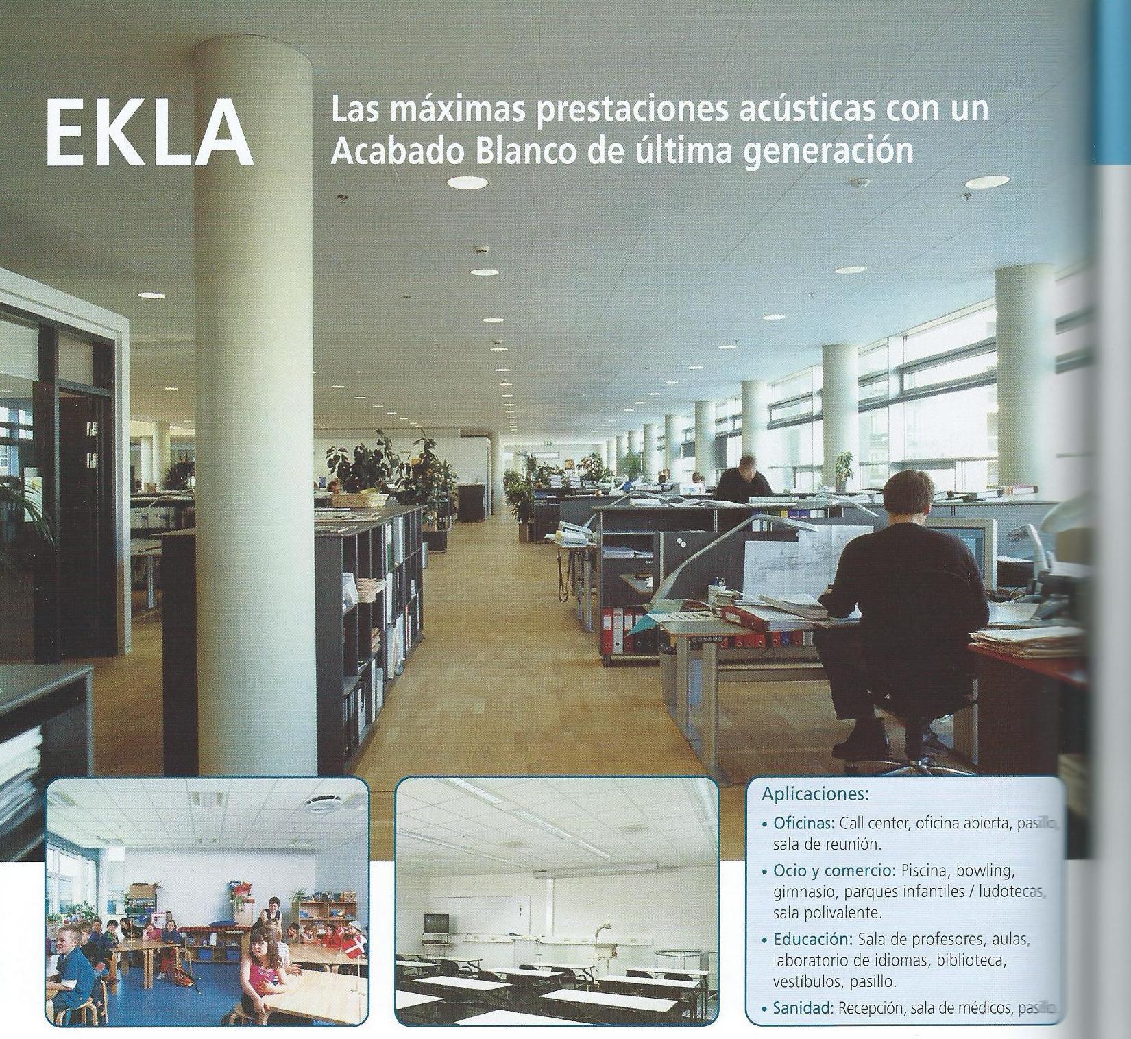 Placa para techos: Ekla Tegular