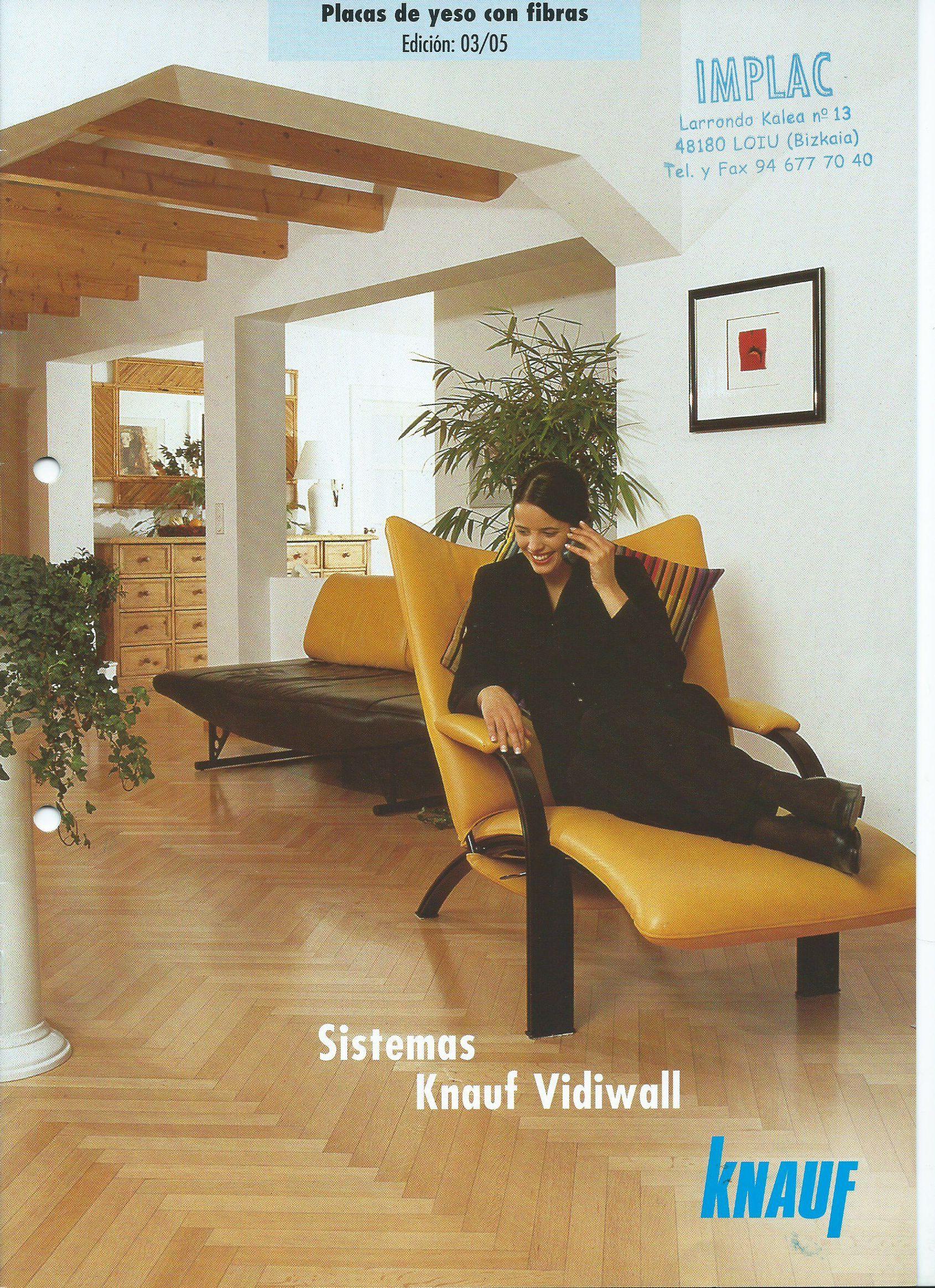 Placas con fibra Vidiwall