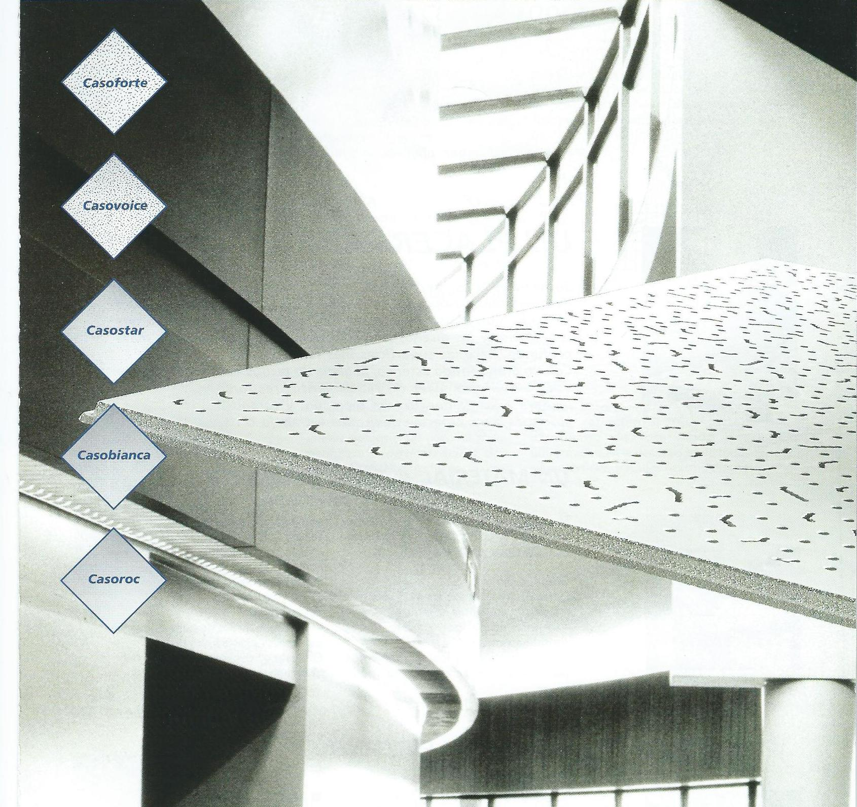 Casoprano, gama de techos decorativos
