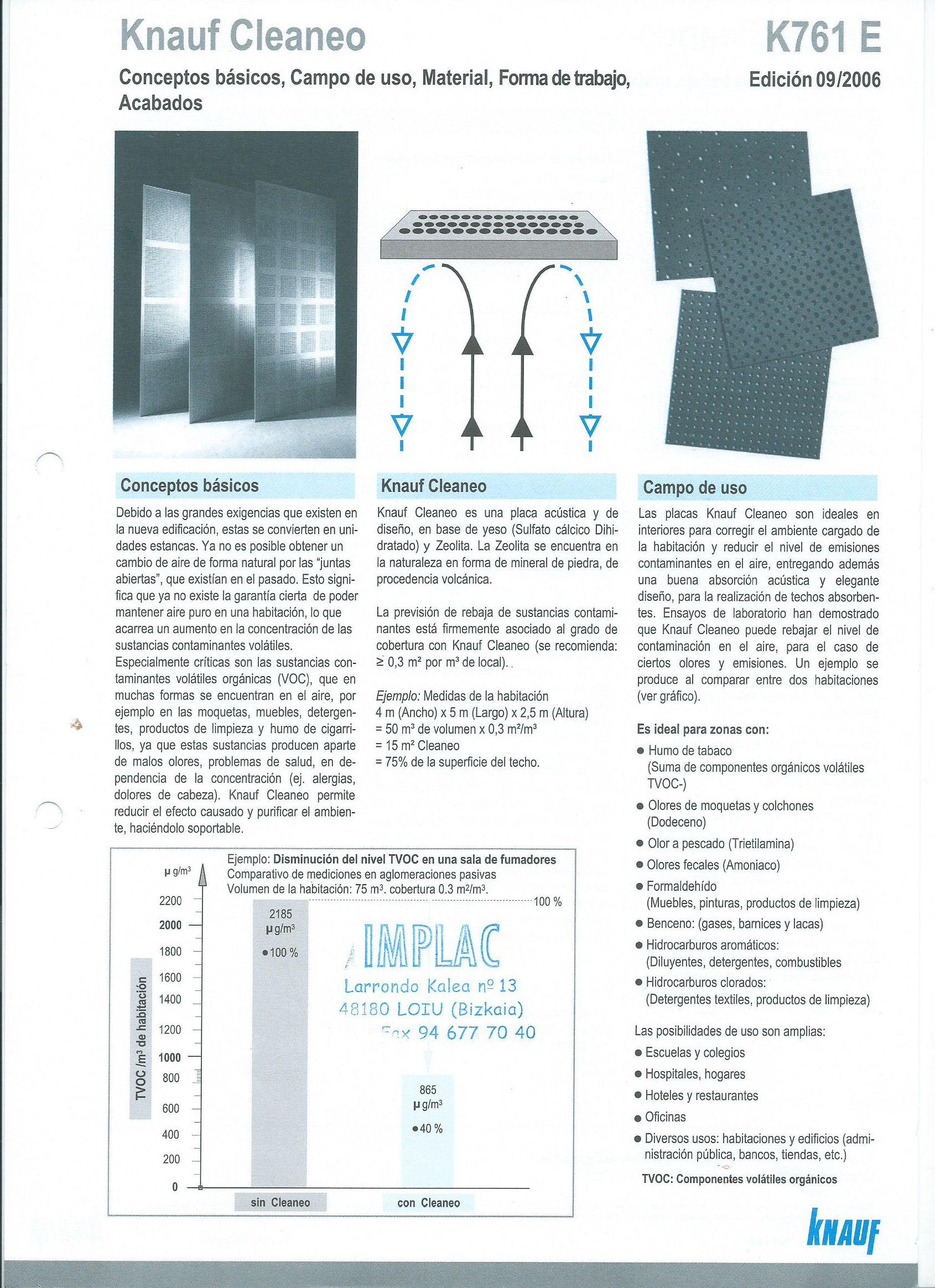 Foto 18 de Aislamientos acústicos y térmicos en  | Implac