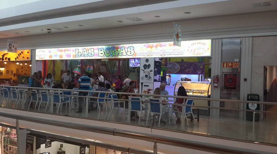 Cafetería: Parque infantil de Las Bolas