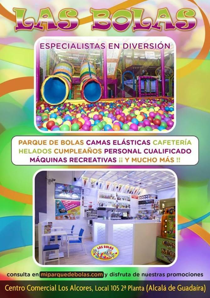 Menús Infantiles: Parque infantil de Las Bolas