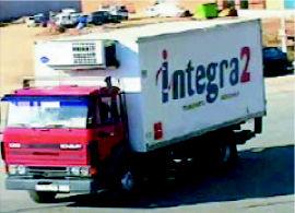 Foto 1 de Transportes frigoríficos en La Puebla de Alfindén | Integra2