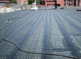 Foto 2 de cubiertas y tejados en fuenlabrada boimco for Piscina cubierta illescas