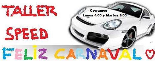 Taller Speed en Carnaval