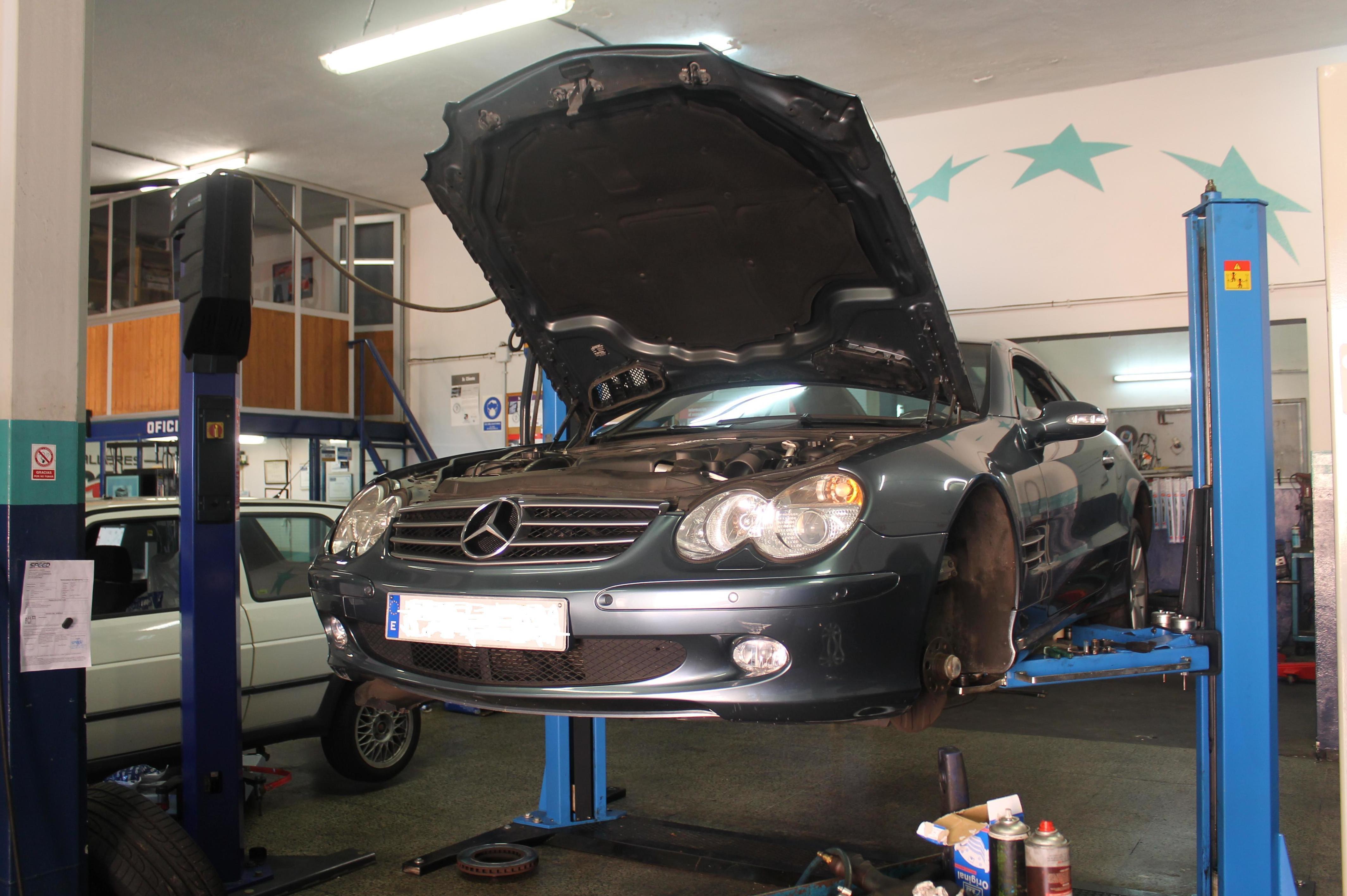 Reparación de frenos y Revisión SL 500