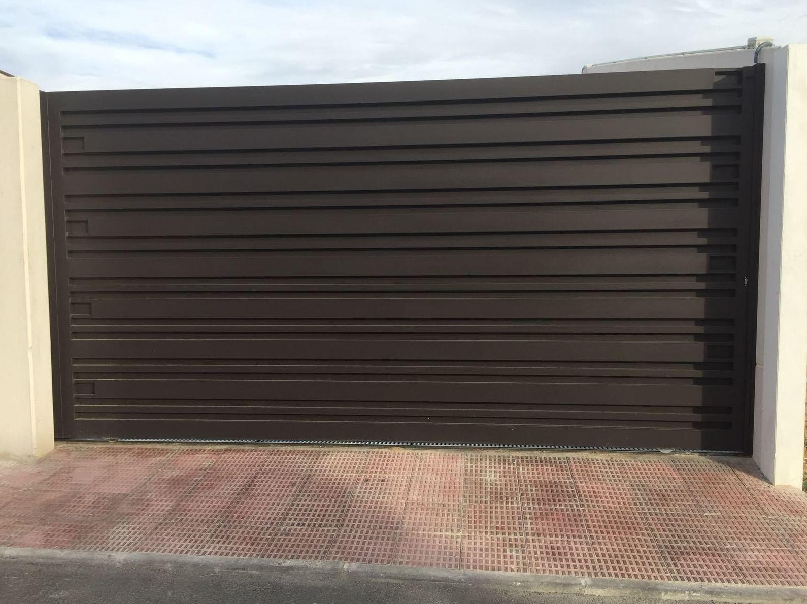 Puerta de hierro enToledo
