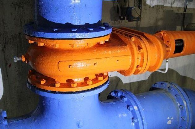 Detalle de bomba de presión