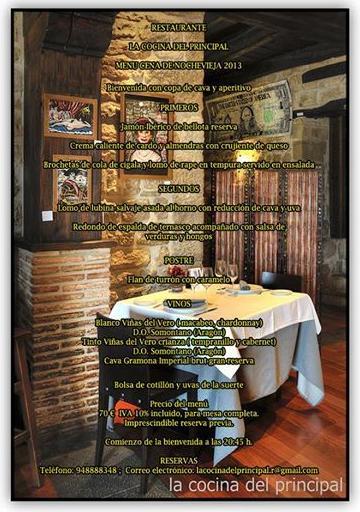 Foto 9 de Cocina aragonesa en Sos del Rey Católico | La Cocina del Principal