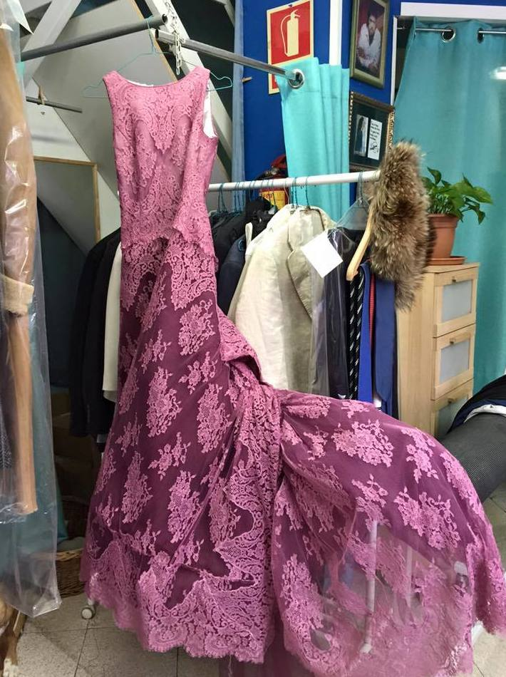 tinte vestidos de novia Barcelona