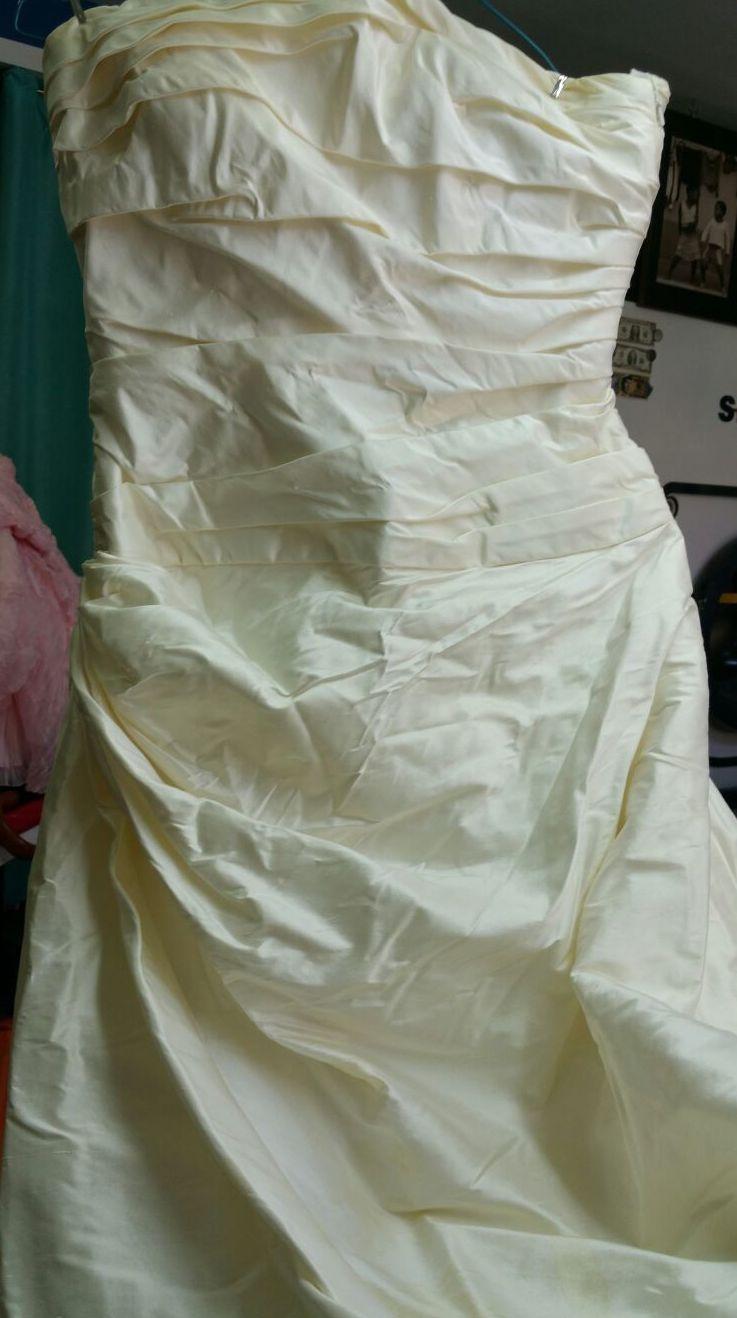tranformacion y tinte de vestidos de novia