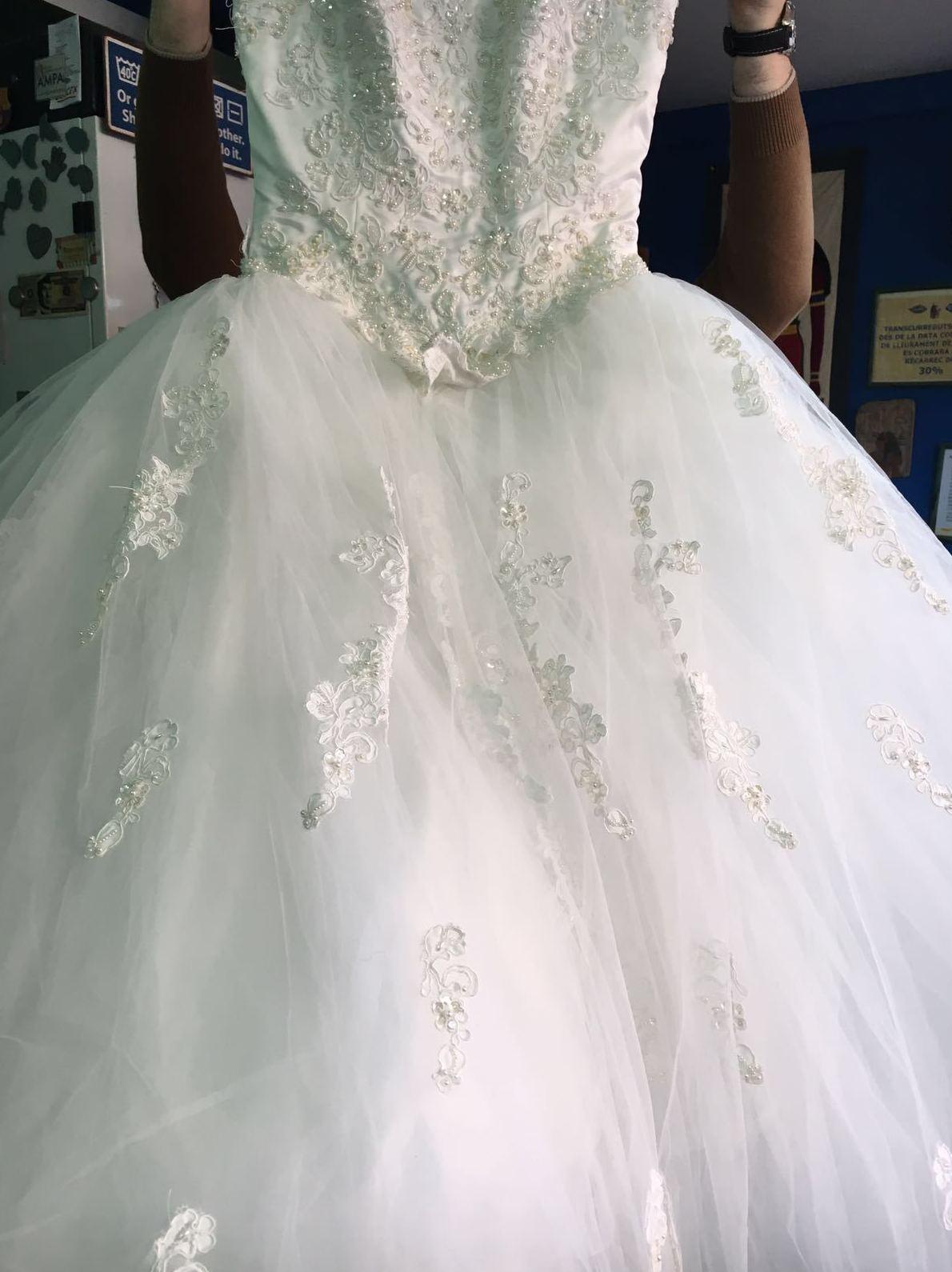 vestido novia antes