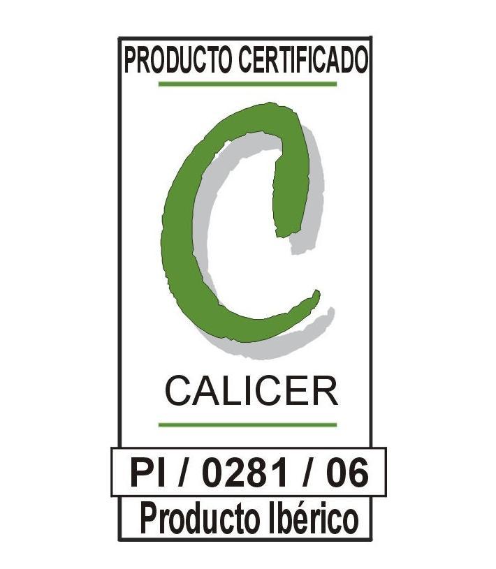 Jamones Montenuevo - Certificado Calicer