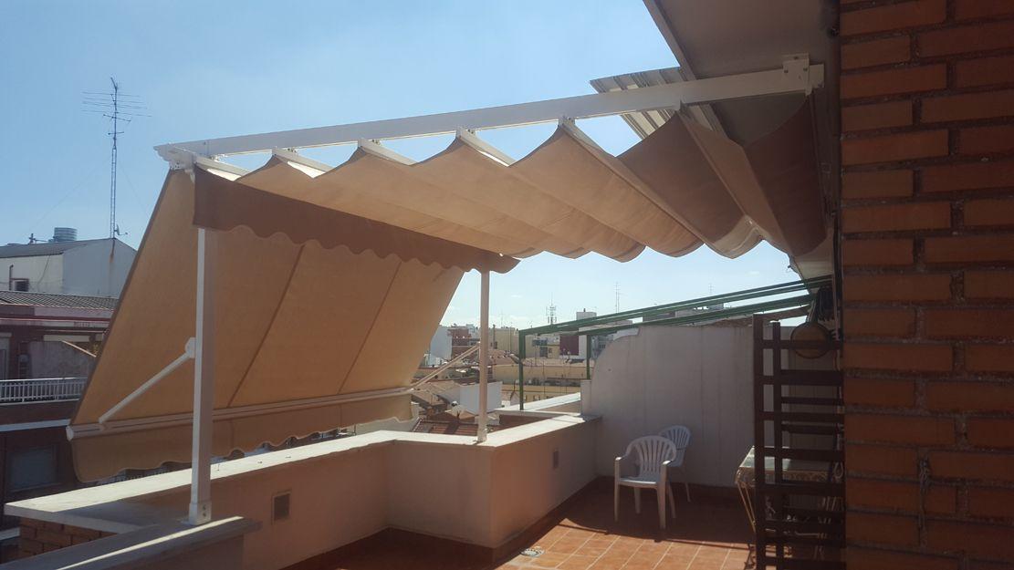 Instalación de toldos y pérgolas en Madrid