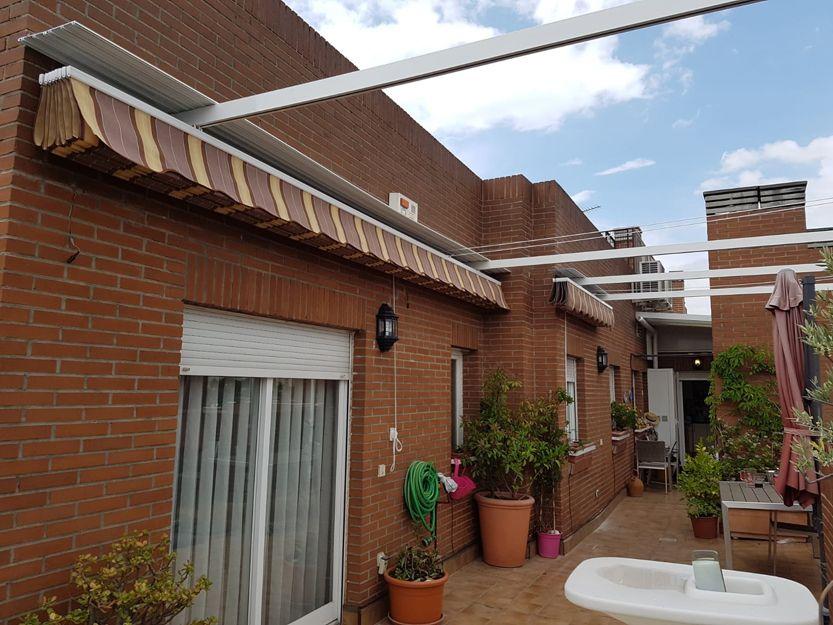Instalación de pérgolas en Madrid
