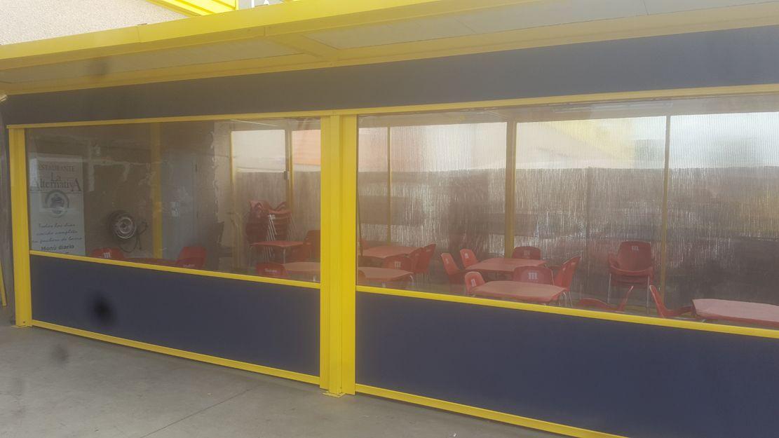 Instalación de cortavientos en Madrid