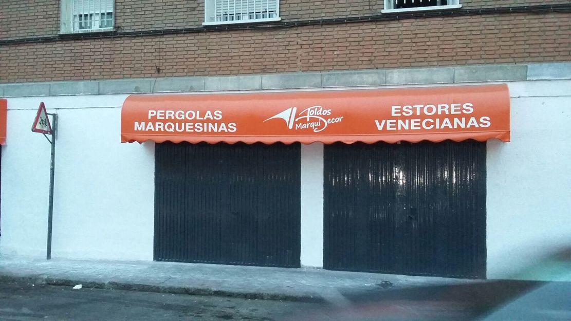 Instalación de capotas en Madrid
