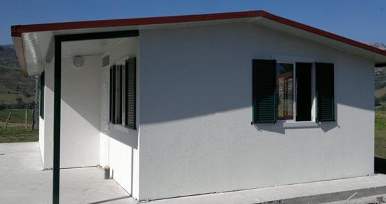 Empresa dedicada a la comercialización de construcciones modulares