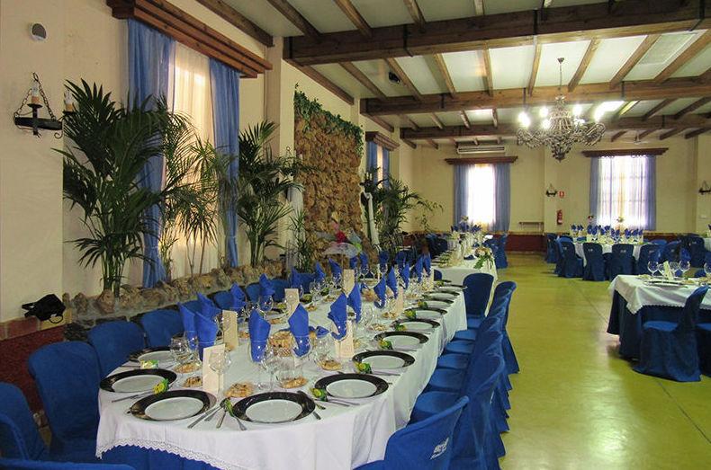 Salón con capacidad para 550 comensales