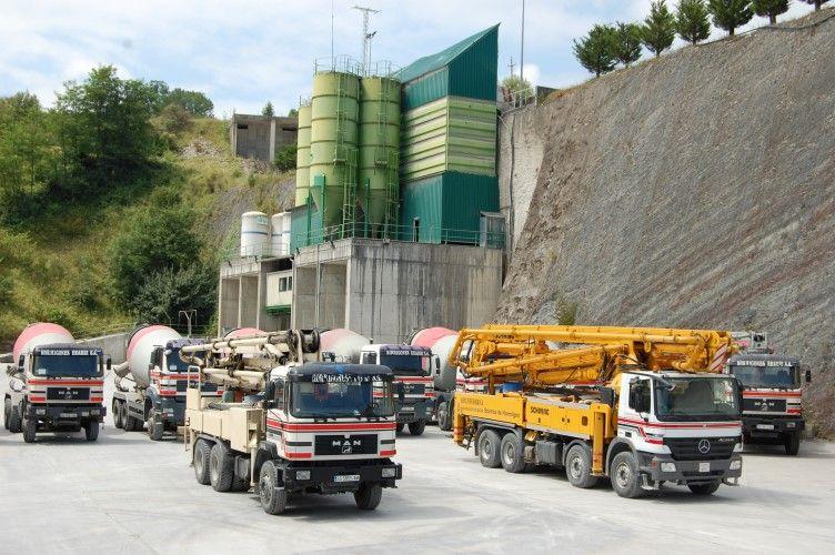 Bombeo de hormigón en Guipuzcoa