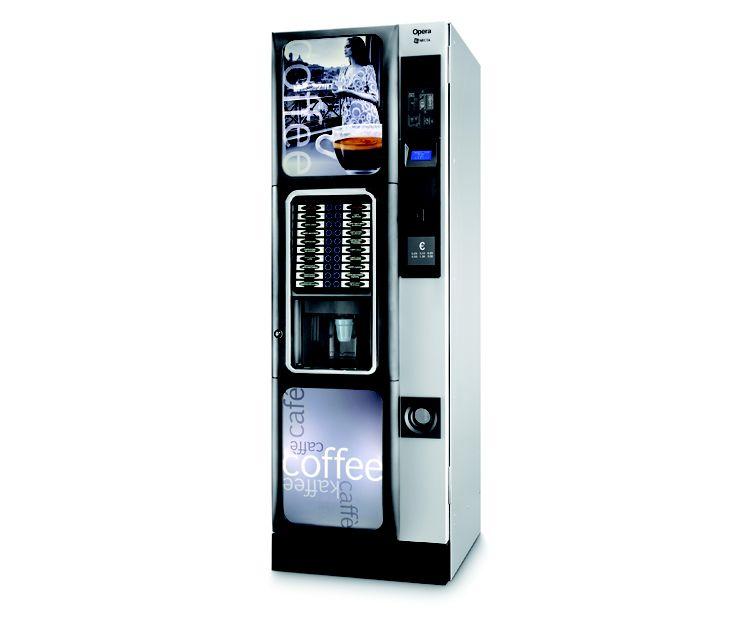 Máquinas vending de café para empresas