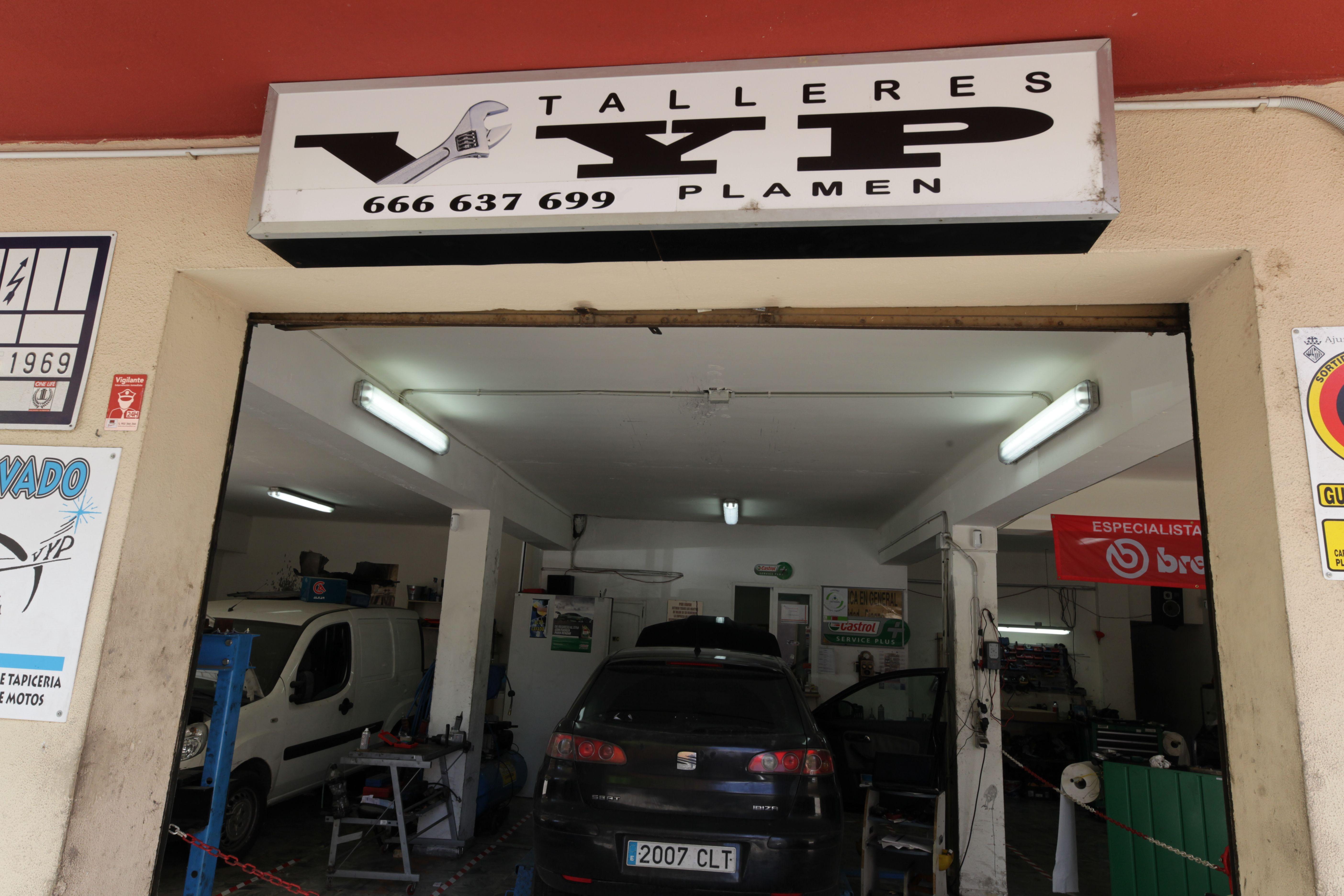 Taller multimarca en Palma de Mallorca