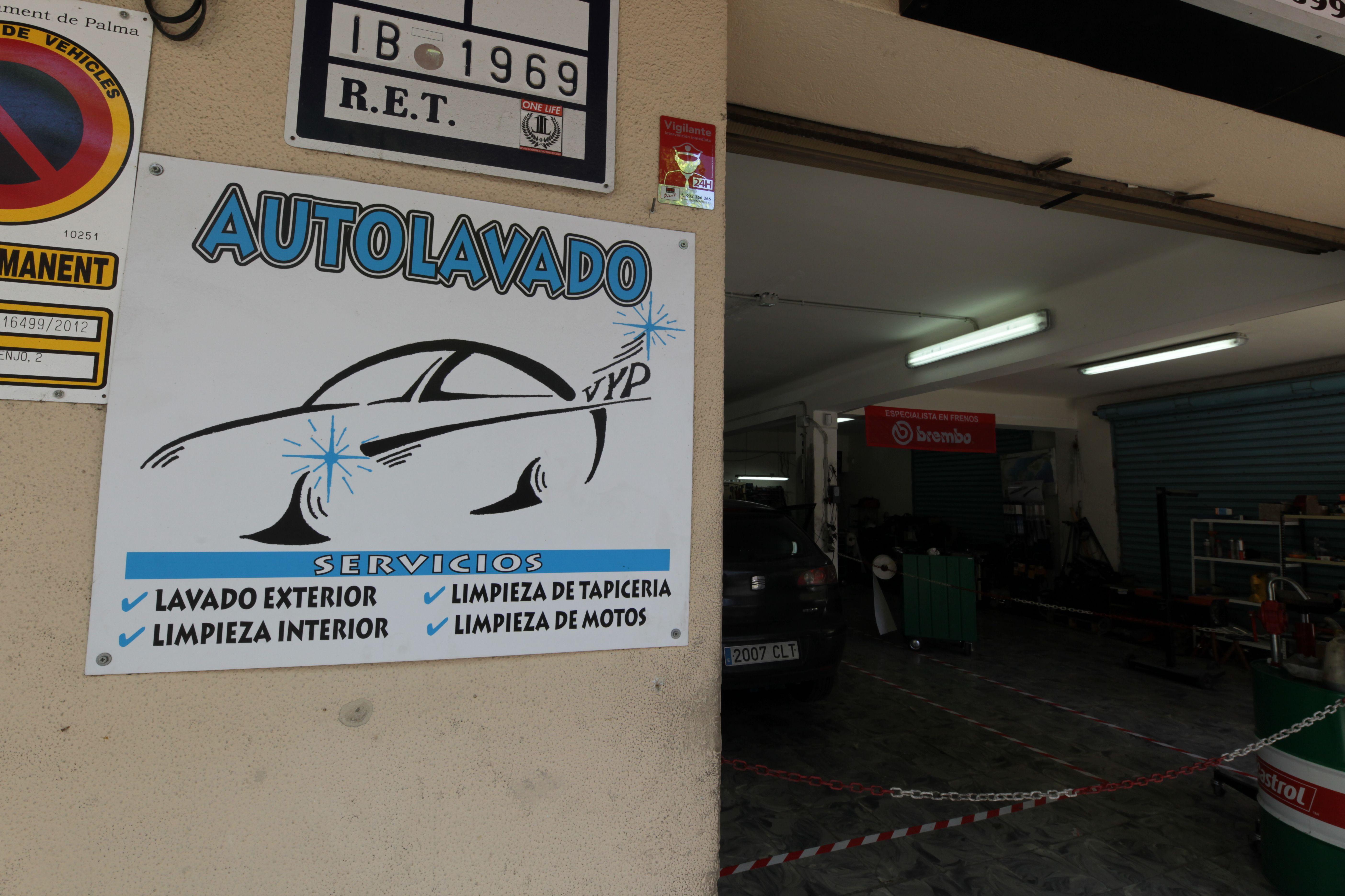 Autolavado en Palma de Mallorca