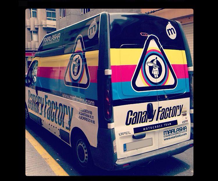Rotulación de furgonetas en Las Palmas de Gran Canaria