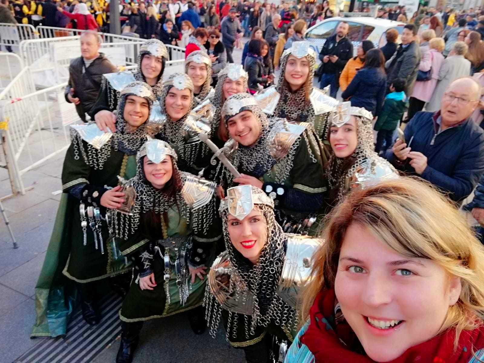 Desfile de Altean@s en Madrid Fitur 2019
