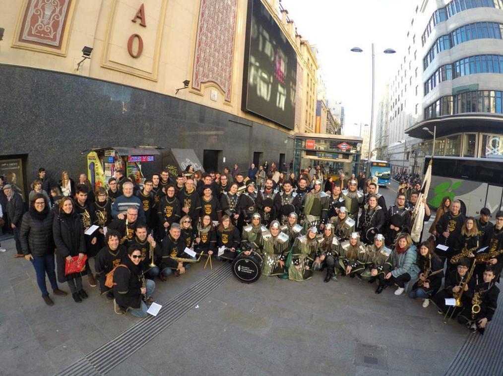 Moros y Cristianos Altea en Madrid