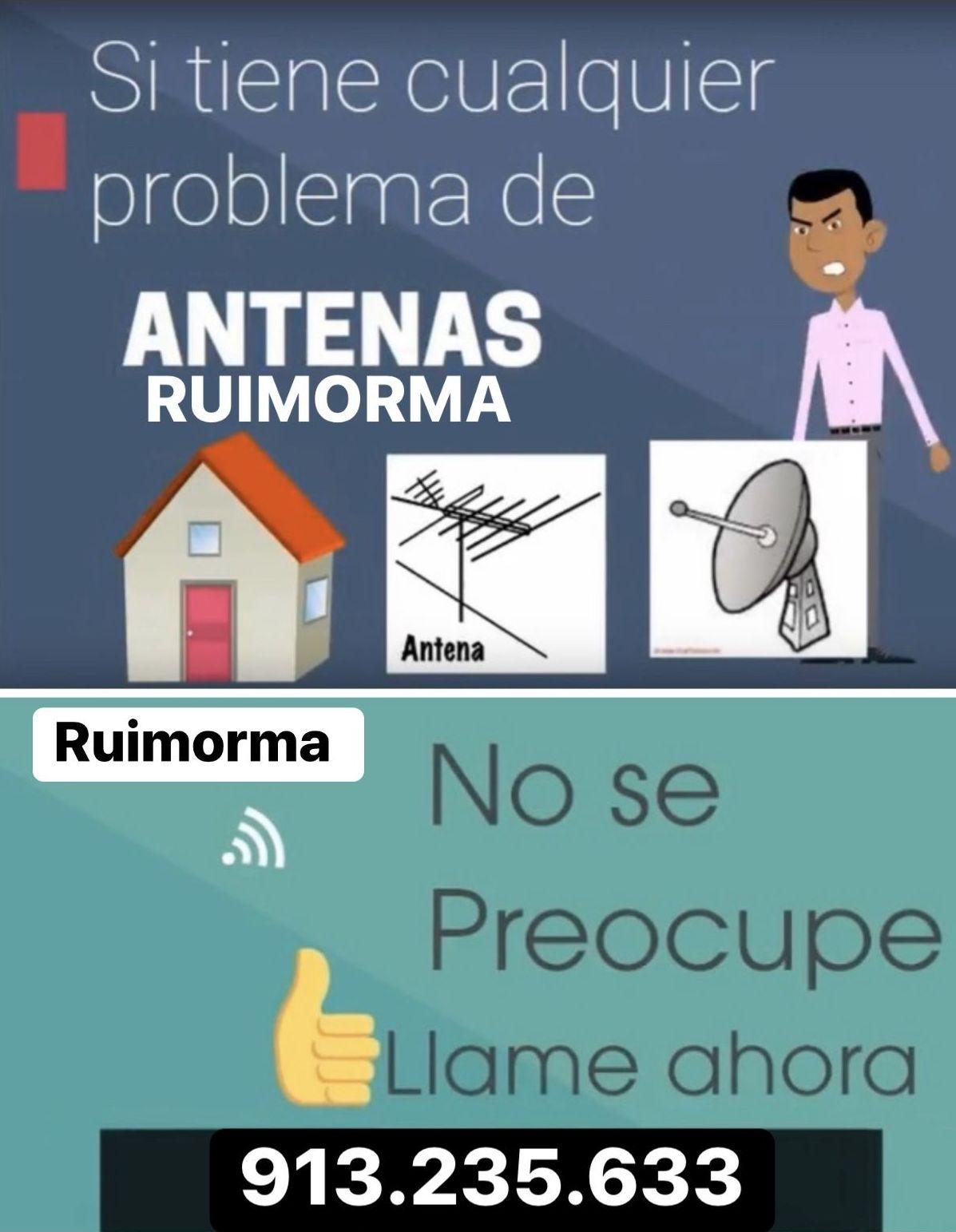 Reparación de antenas en Plaza de Castilla