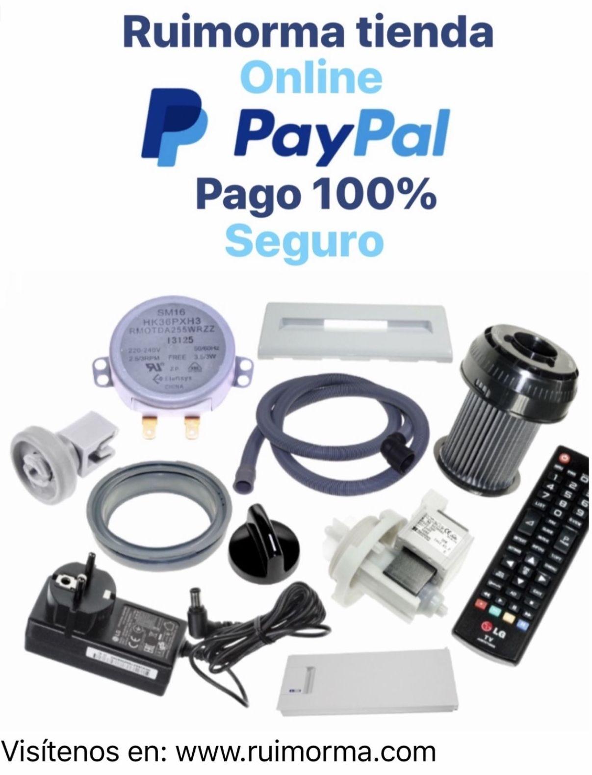 Venta de repuestos para electrodomésticos de forma segura con RUIMORMA y su pago Payy