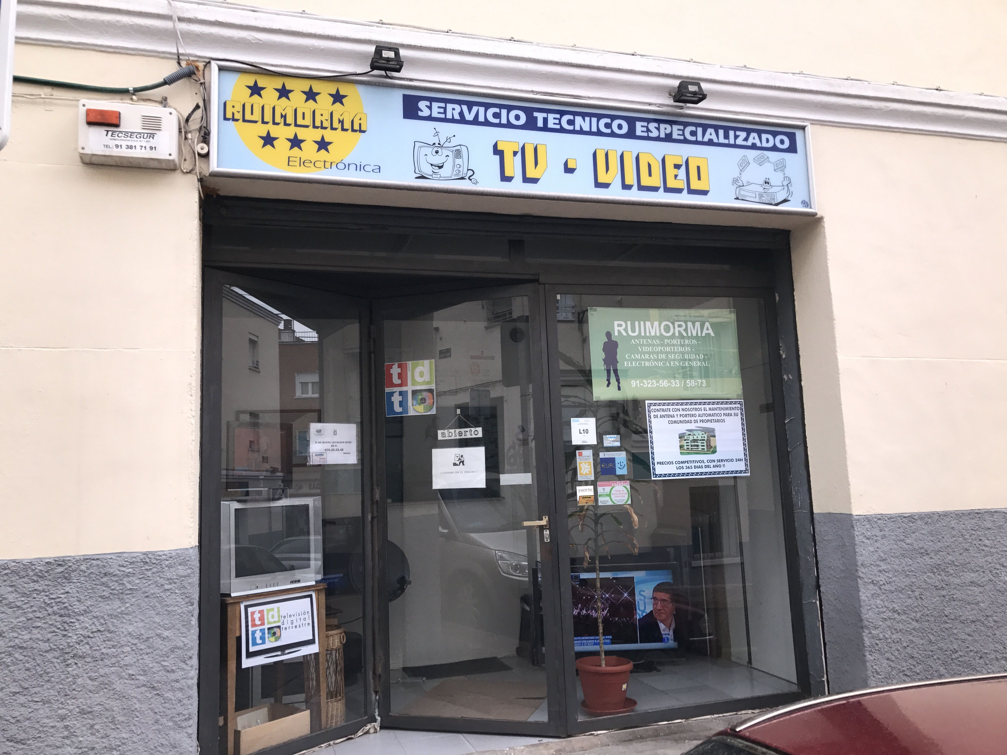 Reparación de antenas en Madrid