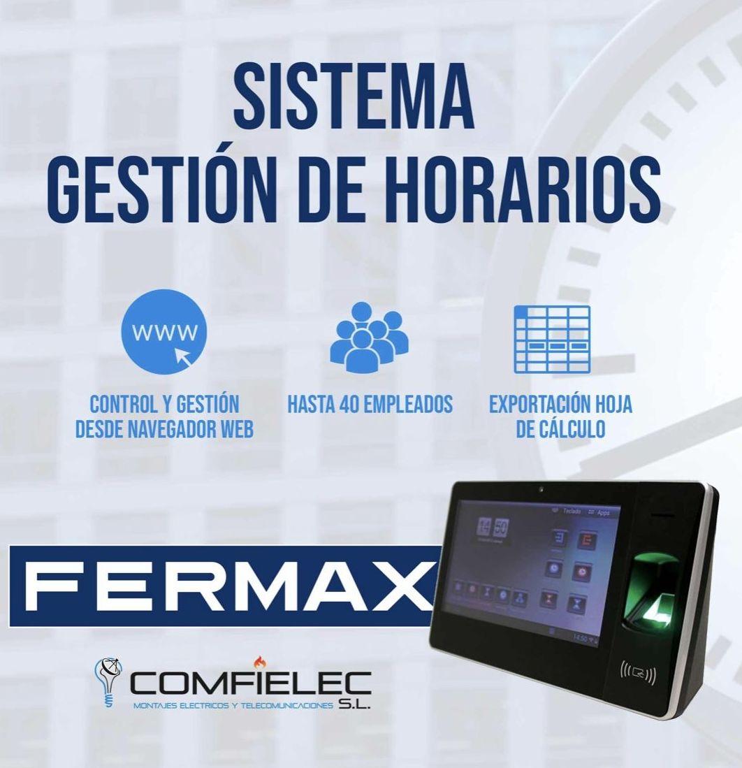 Control de acceso horario en RUIMORMA, servicio técnico en Plaza de Castilla