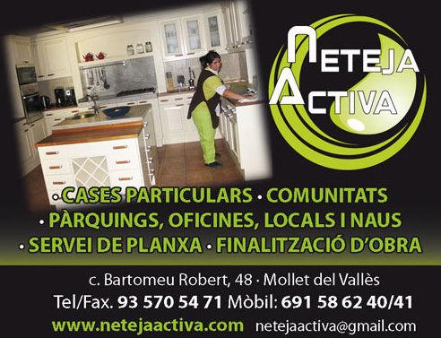 Foto 16 de Todo tipo de limpiezas en Mollet del Vallès | Neteja Activa