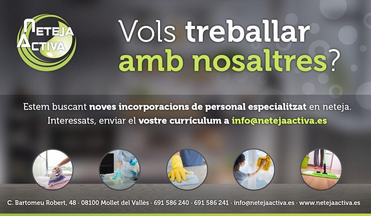 Foto 1 de Todo tipo de limpiezas en Mollet del Vallès | Neteja Activa