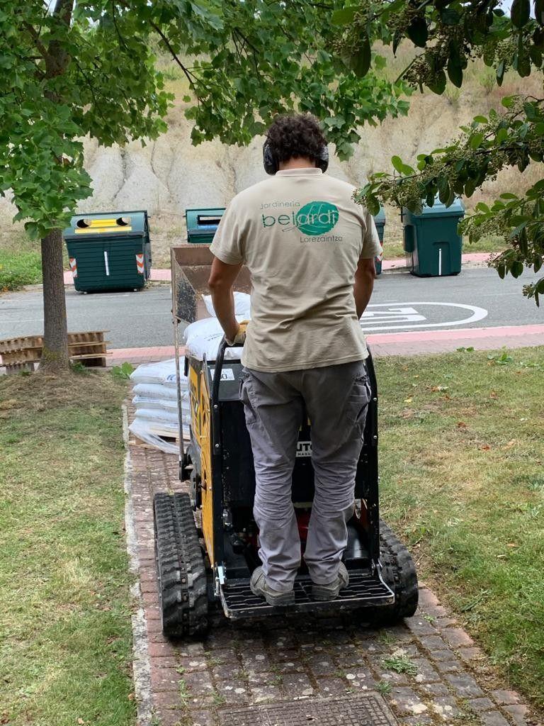 Construcción y mantenimiento de jardines en Navarra