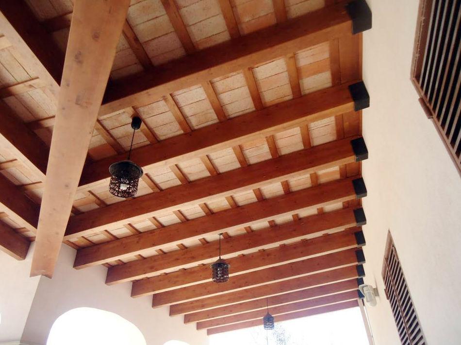 Techos y estructuras de madera