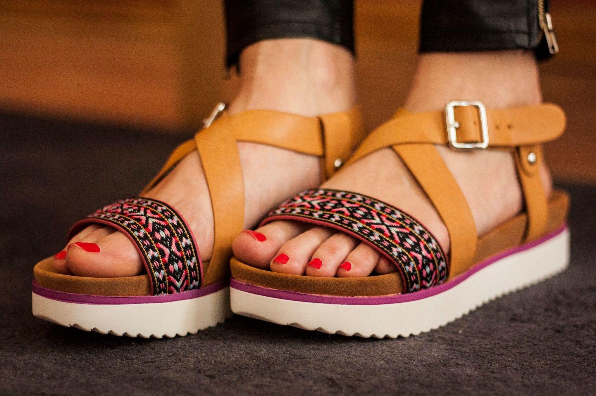 Sandalias para verano en Arteixo