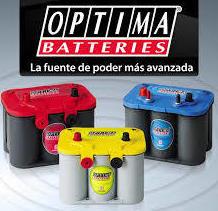 Baterías Optima