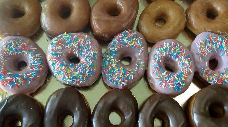 Donuts de diferentes sabores artesanales