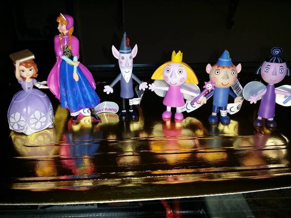 Muñecos decorativos para tartas