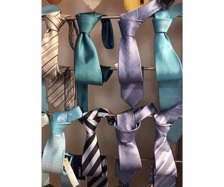 Gran surtido de corbatas