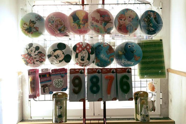 Complementos para fiestas de cumpleaños en Redondela